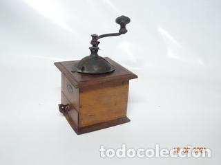 Antigüedades: ANTIGUO MOLINILLO DE CAFE PEUGEOT CON MANIVELA (MANUAL) - Foto 3 - 242108190
