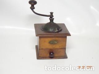 ANTIGUO MOLINILLO DE CAFE PEUGEOT CON MANIVELA (MANUAL) (Antigüedades - Técnicas - Molinillos de Café Antiguos)