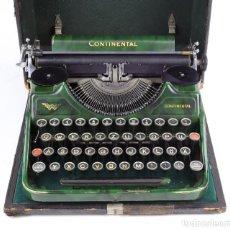 Antigüedades: MÁQUINA DE ESCRIBIR PORTÁTIL CONTINENTAL (1937). Lote 242112300
