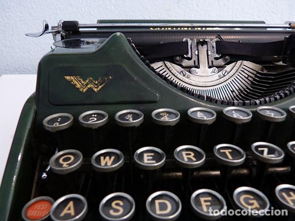 Antigüedades: Máquina de escribir portátil Continental (1937) - Foto 4 - 242112300