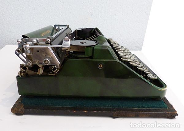 Antigüedades: Máquina de escribir portátil Continental (1937) - Foto 5 - 242112300