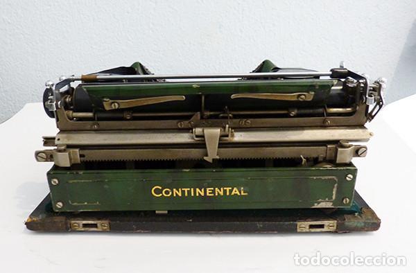 Antigüedades: Máquina de escribir portátil Continental (1937) - Foto 6 - 242112300
