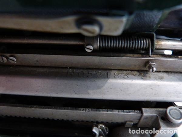 Antigüedades: Máquina de escribir portátil Continental (1937) - Foto 10 - 242112300