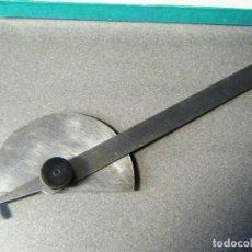 Antigüedades: ANTIGUO TRANSPORTADOR DE 108 GRADOS. Lote 242156685