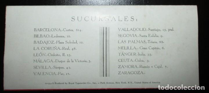 Antigüedades: CATÁLOGO DESPLEGABLE DE LA MÁQUINA DE ESCRIBIR ROYAL VICTORIA. CAMPEONATO MECANOGRAFÍA DE 1935. - Foto 8 - 242202535