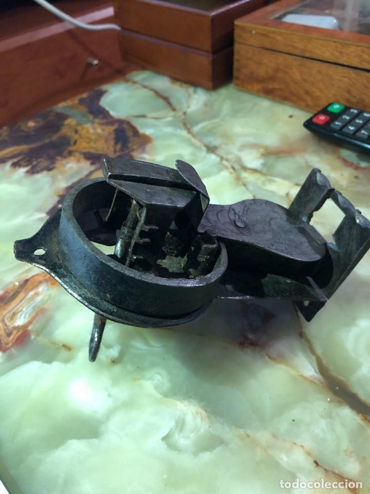 Antigüedades: Cerradura antigua con llave funcionando. - Foto 3 - 242229205