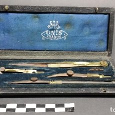Antigüedades: ANTIGUO COMPÁS MARCA UNIS.. Lote 242353200