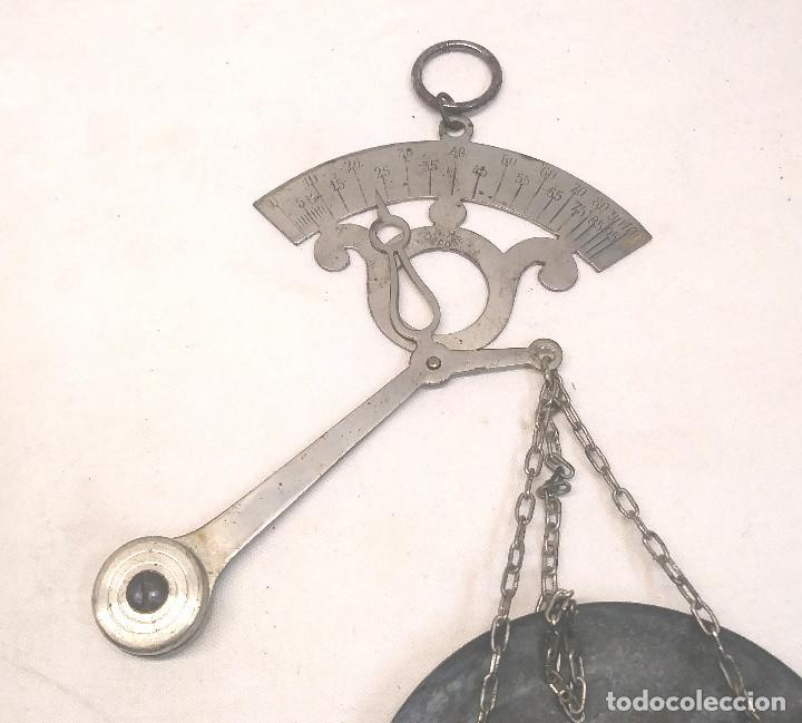 Antigüedades: Balanza 100 gramos pesar Especias - Foto 2 - 242371585