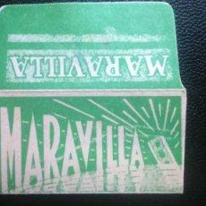 Antigüedades: HOJA DE AFEITAR - CUCHILLA DE AFEITAR - MARAVILLA - SOLO FUNDA - RARA. Lote 242376755
