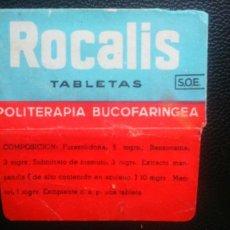 Oggetti Antichi: HOJA DE AFEITAR - CUHILLA DE AFEITAR - ROCALIS - SOLO FUNDA. Lote 242377870