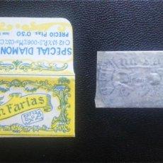 Antigüedades: HOJA DE AFEITAR - CUCHILLA DE AFEITAR - UN FARIAS - NUEVA CON SU HOJA. Lote 242382040