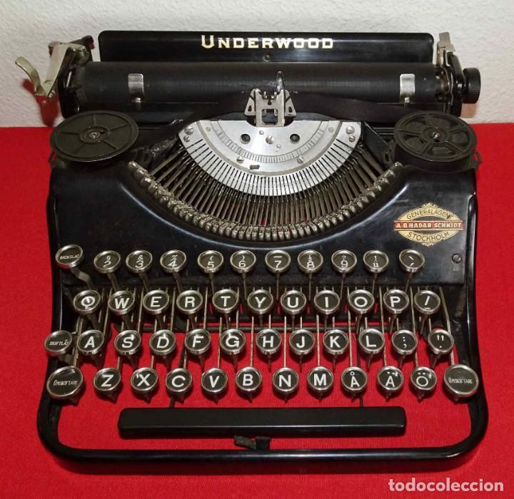 MÁQUINA DE ESCRIBIR UNDERWOOD, C1925 (Antigüedades - Técnicas - Máquinas de Escribir Antiguas - Continental)