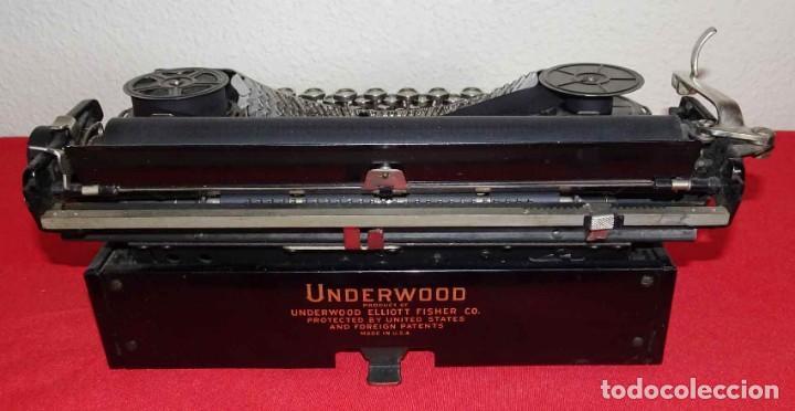 Antigüedades: Máquina de escribir UNDERWOOD, c1925 - Foto 5 - 242456290