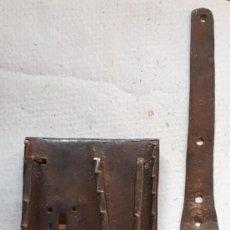 Antiquités: CERRADURA S XVII, FORJA ARAGON. Lote 242492970