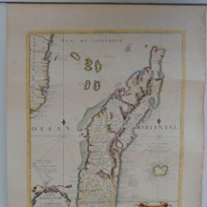 Antigüedades: CARTA NÁUTICA MADAGASCAR. CORONELLI 1650.. Lote 242842875