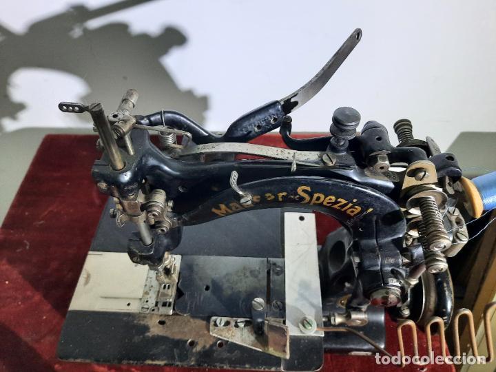 Antigüedades: mauser spezial magnum malin,maquina de coser industrial de siglo xix - Foto 2 - 242873445