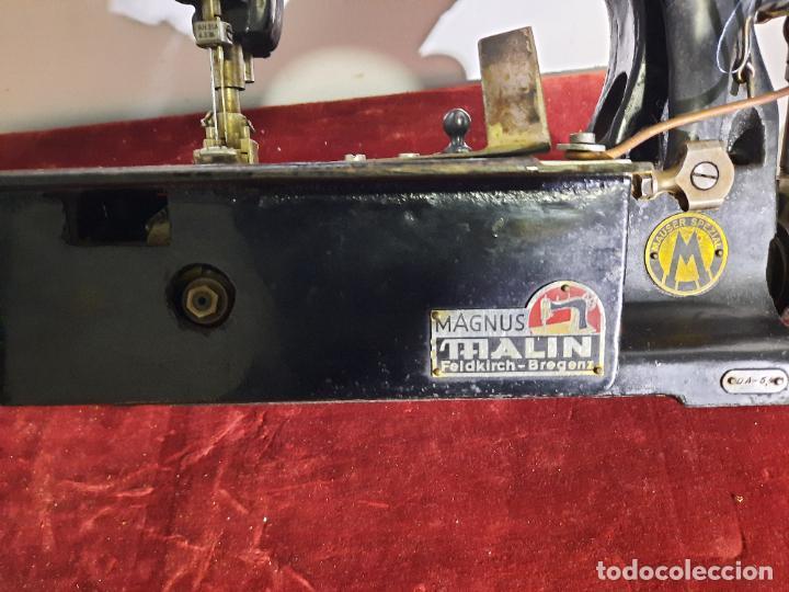 Antigüedades: mauser spezial magnum malin,maquina de coser industrial de siglo xix - Foto 3 - 242873445