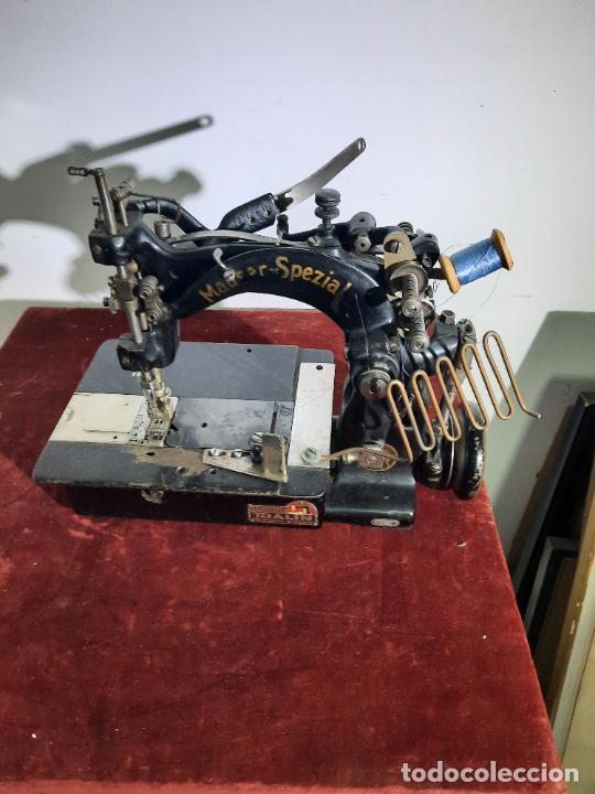 Antigüedades: mauser spezial magnum malin,maquina de coser industrial de siglo xix - Foto 5 - 242873445