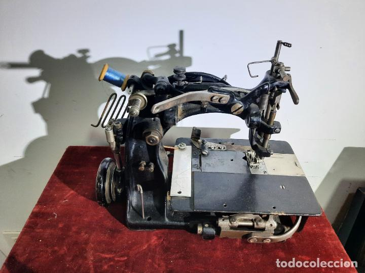 Antigüedades: mauser spezial magnum malin,maquina de coser industrial de siglo xix - Foto 6 - 242873445