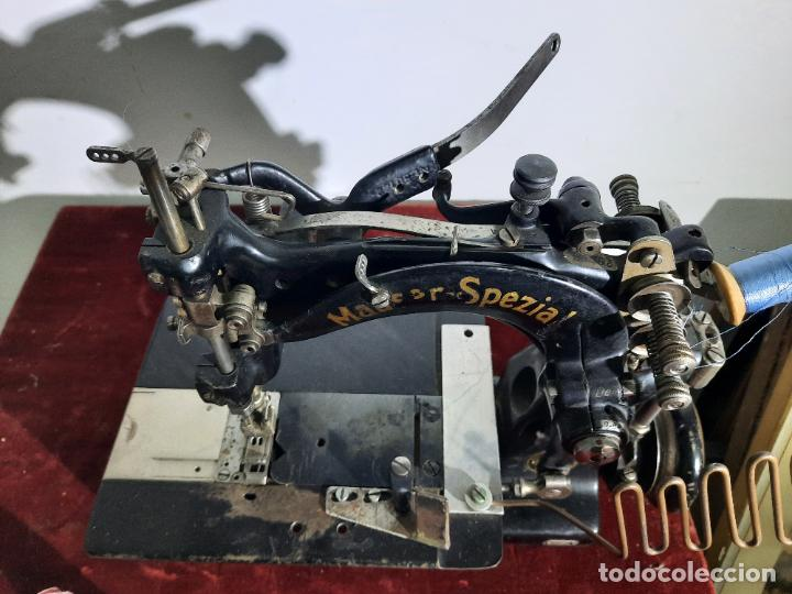 MAUSER SPEZIAL MAGNUM MALIN,MAQUINA DE COSER INDUSTRIAL DE SIGLO XIX (Antigüedades - Técnicas - Máquinas de Coser Antiguas - Otras)
