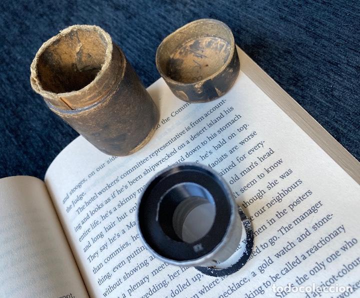 LUPA X8 DE HENSOLDT WETZLAR. (Antigüedades - Técnicas - Instrumentos Ópticos - Lupas Antiguas)