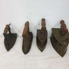 Antigüedades: PLANCHAS DE BRONCE. Lote 242999110