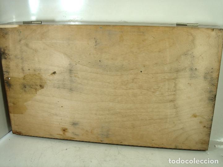 Antigüedades: ESPECTACULAR CAJON DE PRUEBAS LENTES GRADUACION -MADE IN BRITISH - GRADUAR CRISTALES JUEGO + GAFAS - Foto 35 - 243072350