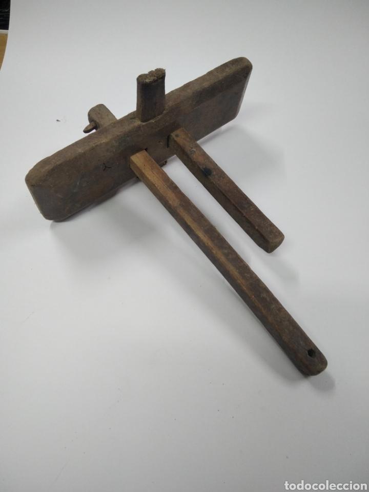 ANTIGUO GRAMIL DE CARPINTERO #2 (Antigüedades - Técnicas - Herramientas Profesionales - Carpintería )