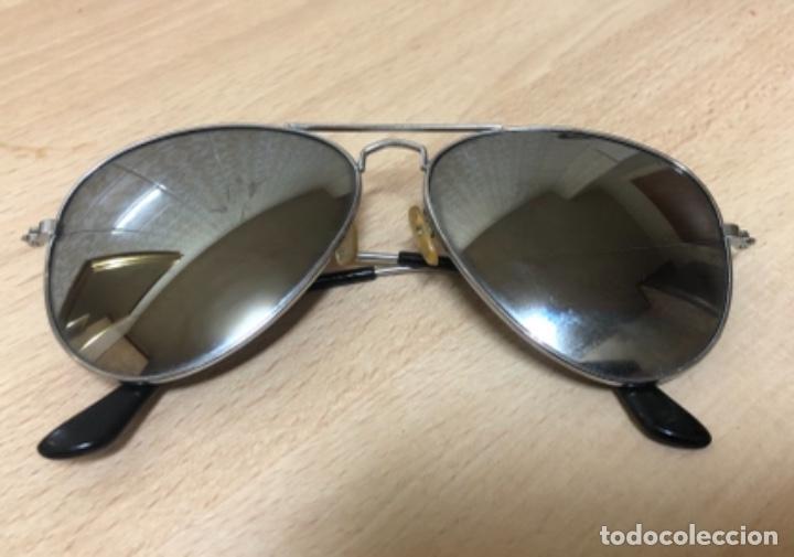 ANTIGÜAS GAFAS DE SOL , ESPEJO RETRO VINTAGE (Antigüedades - Técnicas - Instrumentos Ópticos - Gafas Antiguas)