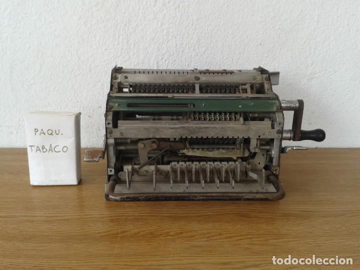ANTIGUA MAQUINA DE CALCULAR MINERVA (Antigüedades - Técnicas - Aparatos de Cálculo - Calculadoras Antiguas)
