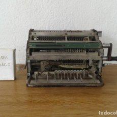 Antigüedades: ANTIGUA MAQUINA DE CALCULAR MINERVA. Lote 243236695