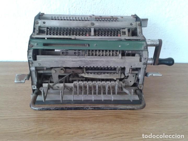 Antigüedades: ANTIGUA MAQUINA DE CALCULAR MINERVA - Foto 2 - 243236695