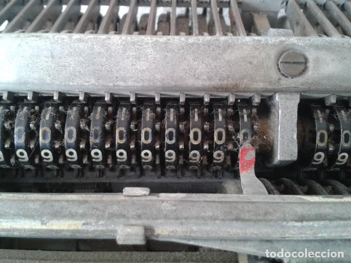 Antigüedades: ANTIGUA MAQUINA DE CALCULAR MINERVA - Foto 8 - 243236695