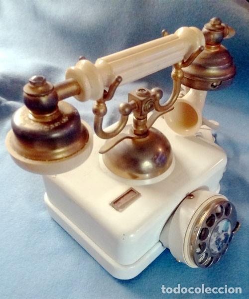 TELEFONO ELASA ESTILO - CTNE - AÑOS 60 -70 - FUNCIONA - Nº 054531- ECUALIZADO (Antigüedades - Técnicas - Teléfonos Antiguos)
