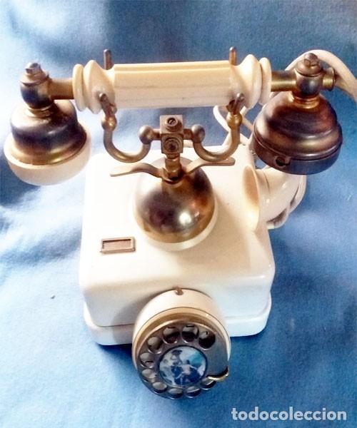 Teléfonos: Telefono Elasa Estilo - CTNE - Años 60 -70 - Funciona - Nº 054531- Ecualizado - Foto 2 - 243237690