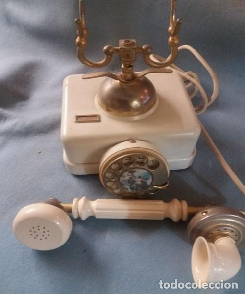 Teléfonos: Telefono Elasa Estilo - CTNE - Años 60 -70 - Funciona - Nº 054531- Ecualizado - Foto 4 - 243237690