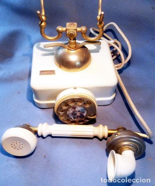 Teléfonos: Telefono Elasa Estilo - CTNE - Años 60 -70 - Funciona - Nº 054531- Ecualizado - Foto 5 - 243237690