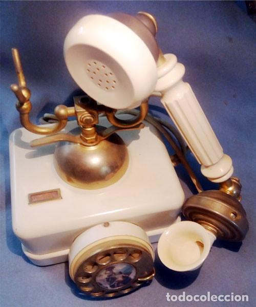 Teléfonos: Telefono Elasa Estilo - CTNE - Años 60 -70 - Funciona - Nº 054531- Ecualizado - Foto 10 - 243237690