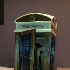 Téléphones: ANTIGUO TELÉFONO INGLES DE LOS AÑOS 80/90 - CON FORMA DE CABINA INGLESA - FUNCIONA. Lote 243246400