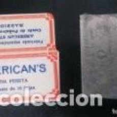 Antiquités: HOJA DE AFEITAR ESPAÑOLA - AMERICANS - 1 PESETA - MUY RARA. Lote 243252805