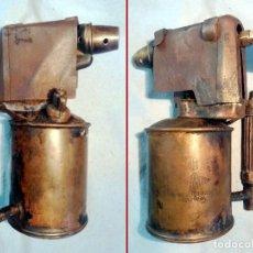 Antigüedades: ANTIGUO SOPLETE DE METAL LATON Y HIERRO MARCA SERROT BARCELONA TIPO B.AÑOS 1940-50. Lote 243262465