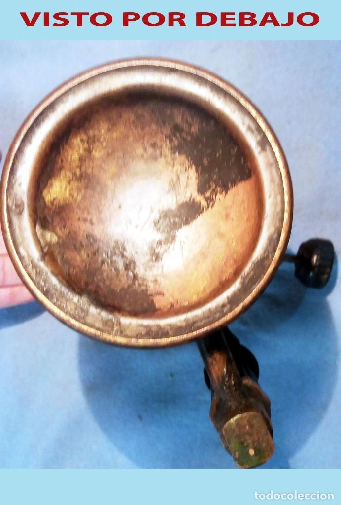 Antigüedades: ANTIGUO SOPLETE DE METAL LATON Y HIERRO MARCA SERROT BARCELONA tipo B.Años 1940-50 - Foto 5 - 243262465