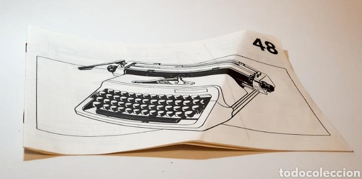 MANUAL MÁQUINA DE ESCRIBIR ERIKA COMPLETO (Antigüedades - Técnicas - Máquinas de Escribir Antiguas - Erika)