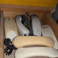 Teléfonos: LOTE CUATRO TELEFONOS DE PARED DOS DE TELYCO. Lote 243291930