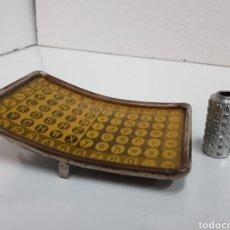 Antigüedades: TABLERO TECLADO Y CILINDRO TIPOS MIGNON. Lote 243358930