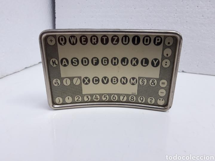 Antigüedades: Tablero teclado Mignon. - Foto 2 - 243360135