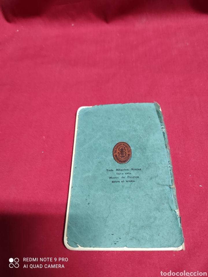 Antigüedades: Libro de instrucciones de máquina de coser singer n⁰15 - Foto 3 - 243454630