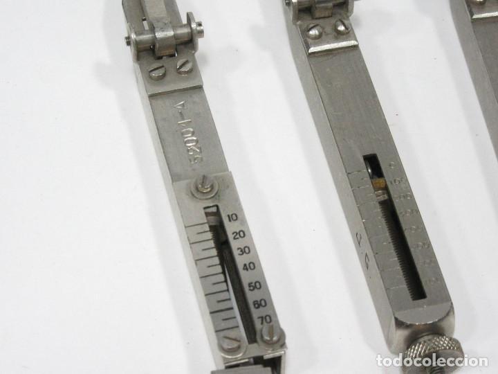 Teléfonos: Juego de 3 medidores para reles de centralita telefónica. - Foto 3 - 243459900