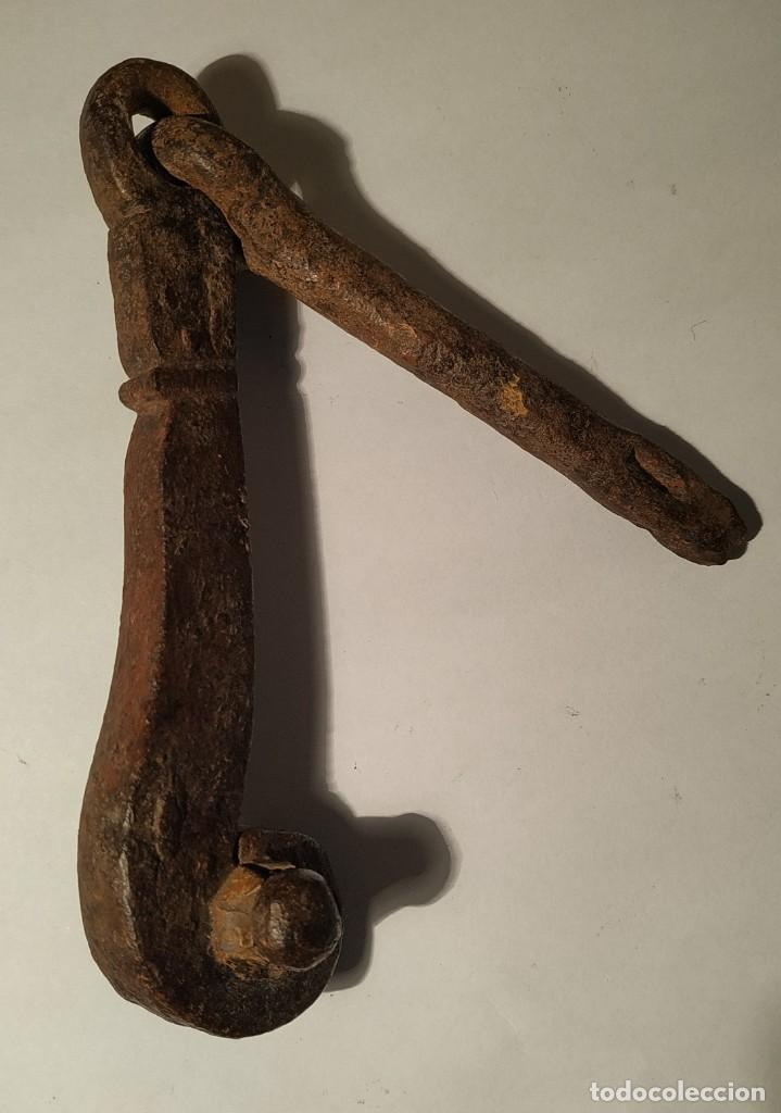 Antigüedades: Antiguo llamador de puerta - Foto 2 - 243549900