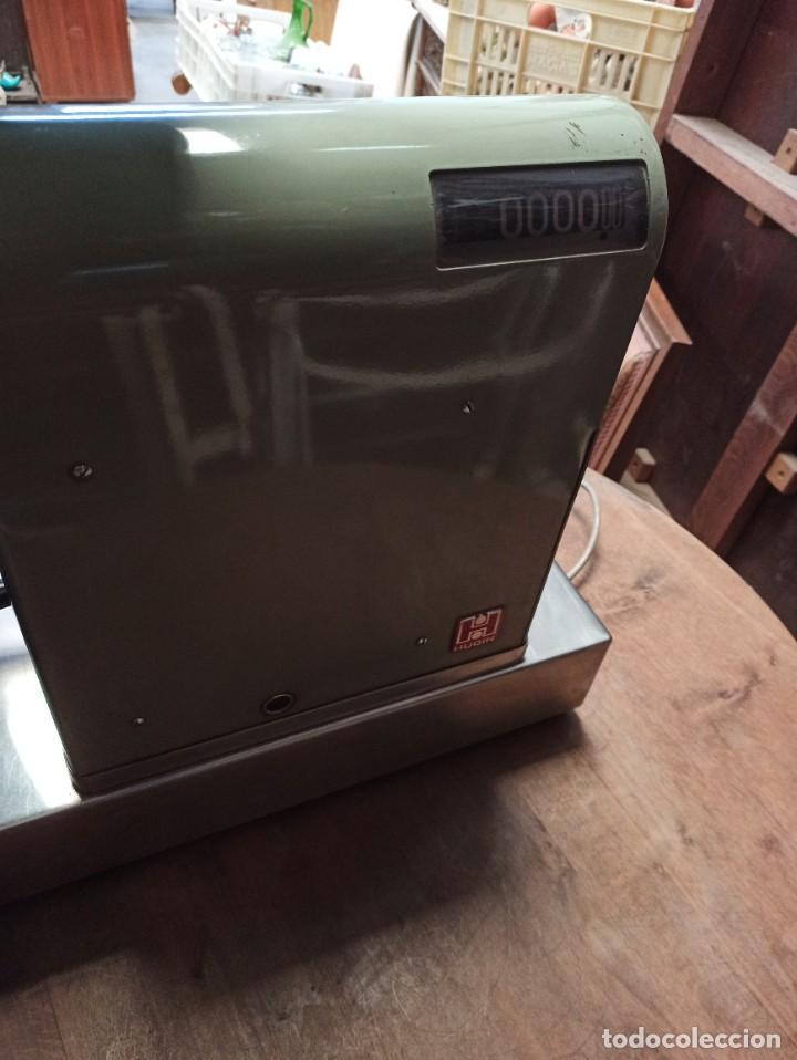 Antigüedades: Antigua caja registradora Hugin. - Foto 10 - 243561135